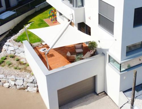 Dachterrasse – elektrisch